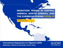 Migration Trends in Central America, North America, and the Caribbean During COVID-19 - IOM - November20